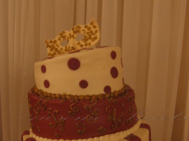 Tmx 1393440453461 Wed028 Pawtucket, RI wedding cake