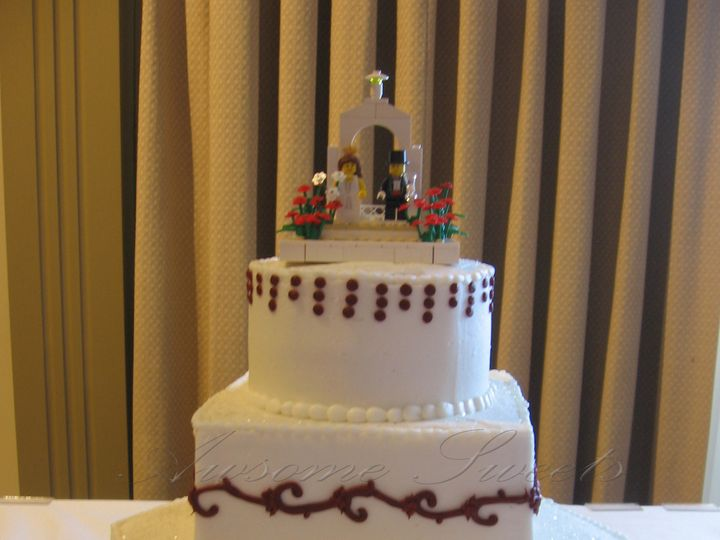 Tmx 1393442617846 Wed017 Pawtucket, RI wedding cake
