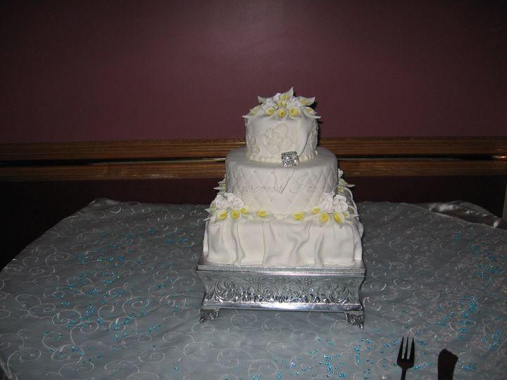 Tmx 1393442691867 Wed023 Pawtucket, RI wedding cake