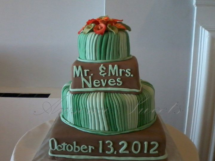 Tmx 1393442735185 Wed027 Pawtucket, RI wedding cake