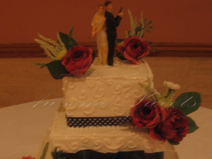 Tmx 1393443617735 Wed003 Pawtucket, RI wedding cake