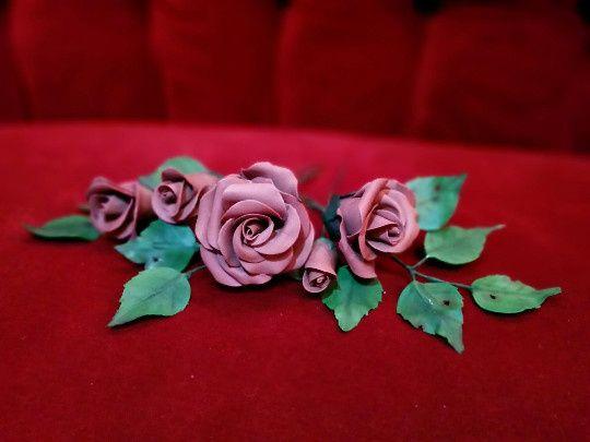 piece rose set