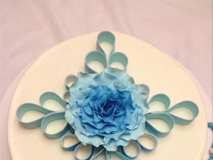 Tmx 1425521482243 Baptism Topper Orlando wedding cake