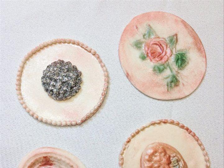 Tmx 1425521730268 Cupcake Toppers Shabby Chic Orlando wedding cake