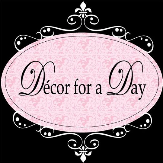 Decor for a Day Wedding Wire Logo