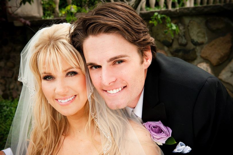 Gorgeous happy couple