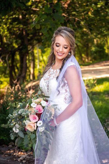 Bridal beauty Amy