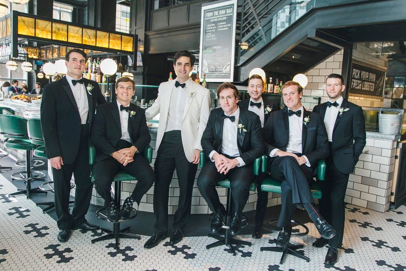 Groomsmen in Saltine