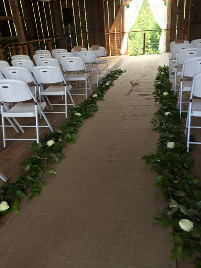 Wedding at Stein Boozier Barn