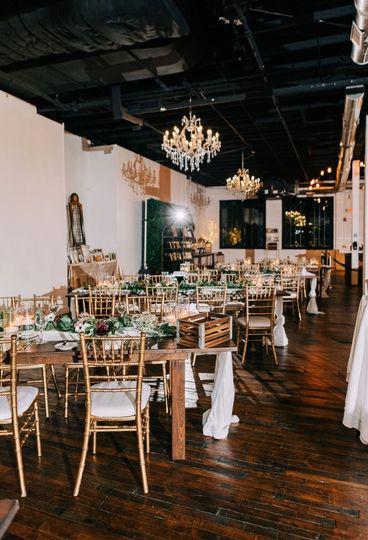 The Loft - Set for a Wedding