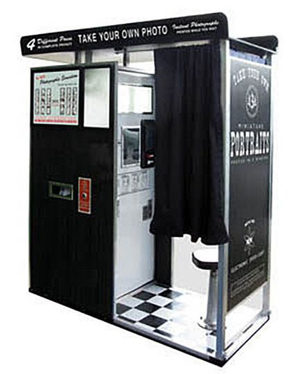 "The ""Model 14"" 1960s Reproduction Photobooth"