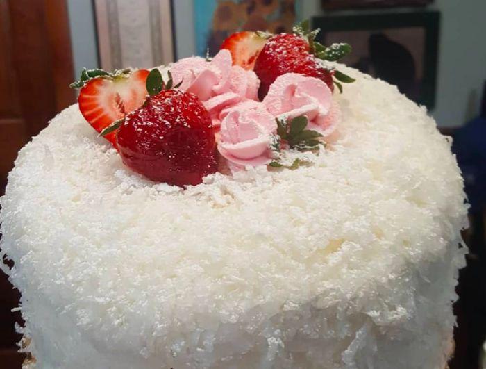 Ambrosia Cake Kitchen