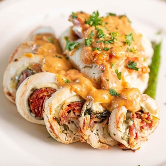 Chicken Roulade.