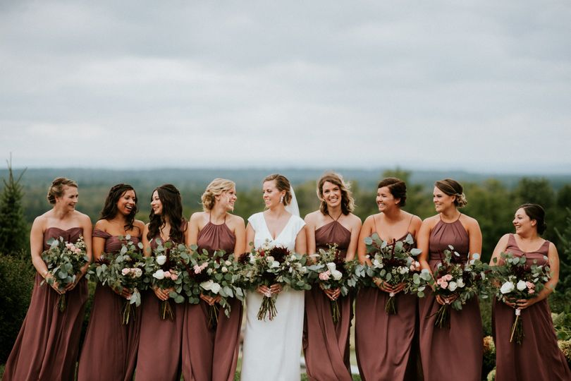 Bridal party | Photo: Amy Spirito Photography