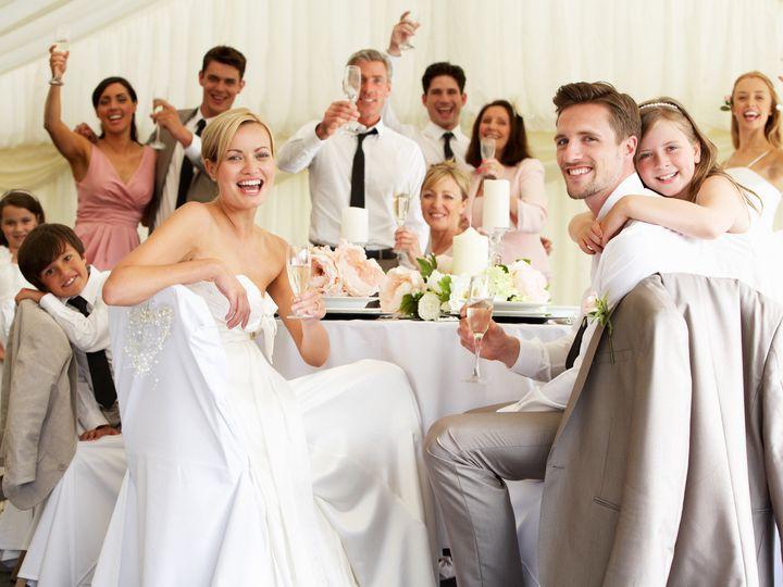 Tmx 1428608237391 Bride And Groom At A Table Saint Paul, MN wedding dj