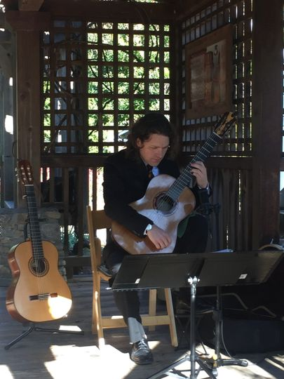 This is from a wedding that I provided ceremony music for at the NC Arboretum in Asheville, NC. I...