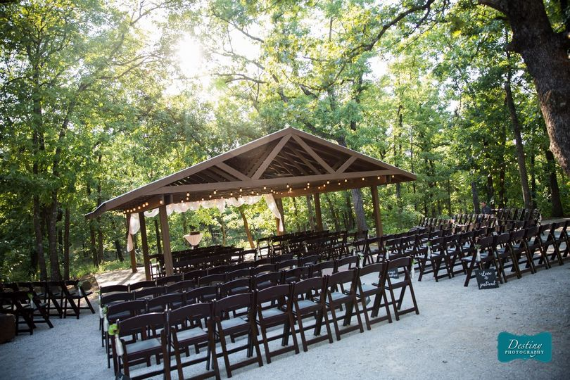 Ceremony, The Arbor | Photo Credit: Destiny Photography