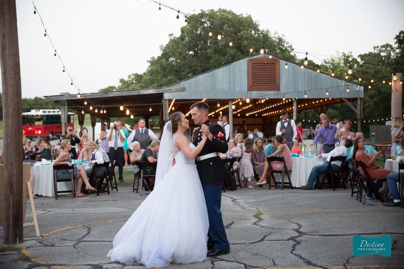 Reception, Pole Barn | Photo Credit: Destiny Photography