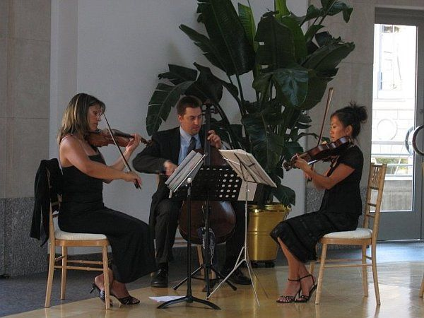 String Trio at the Ronald Reagan Building