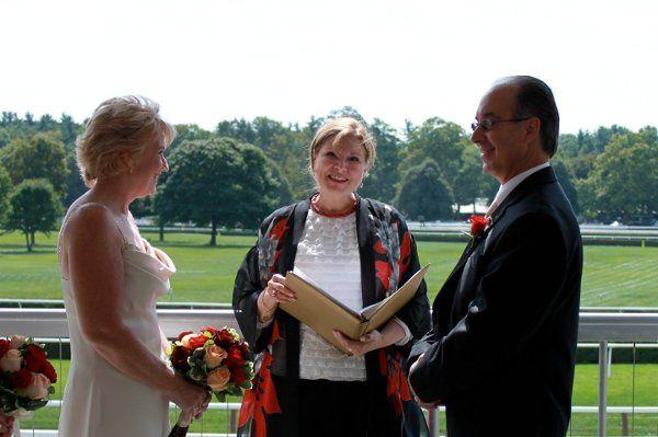 Saratoga Wedding Officiant Saratoga Racecourse Reverend Joy Burke