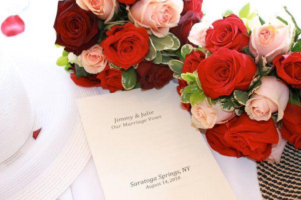 Julie & Jimmy's Saratoga Racecourse Wedding 8/14/10 with Reverend Joy Burke