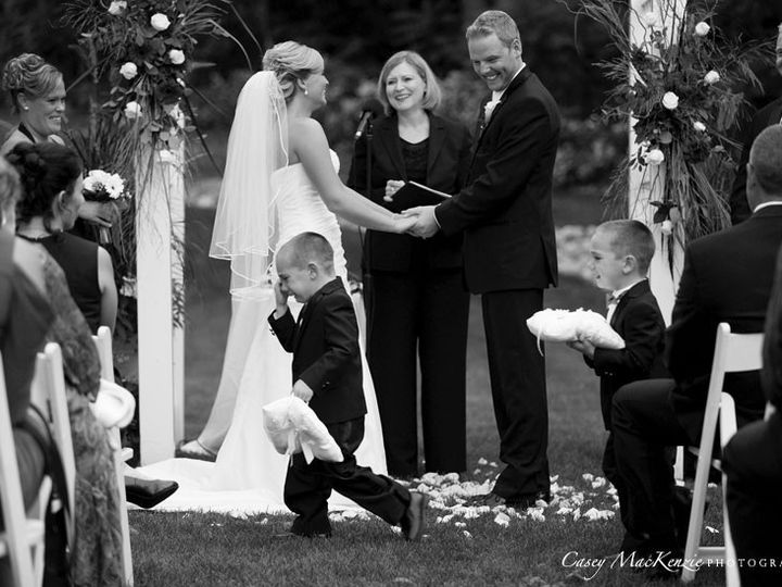 Tmx 1426597861615 Ashley Ricky Ring Boys Meltdown Saratoga Springs, New York wedding officiant