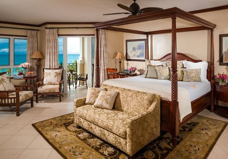 Room with a beautiful ocean view