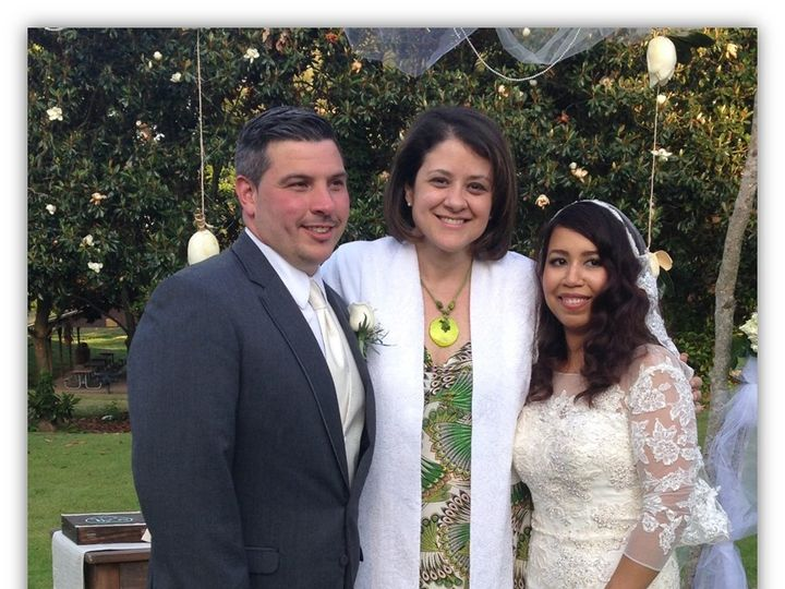 Tmx 1453576931746 Con Reggie Y Liz 2 Raleigh, NC wedding officiant