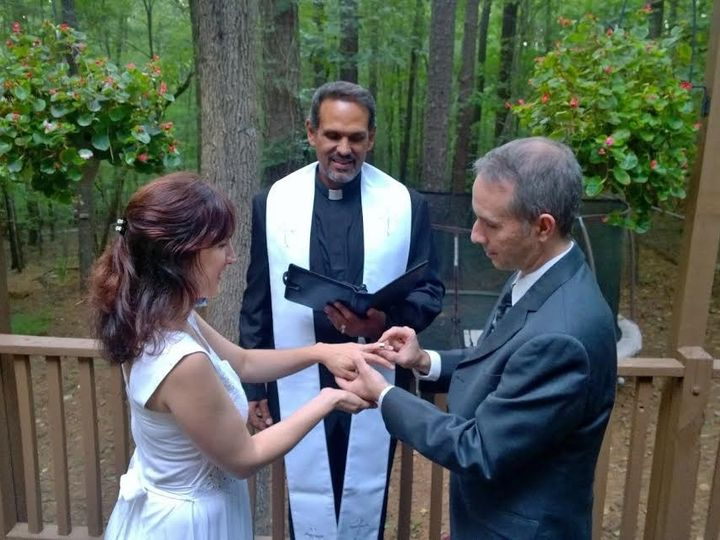 Tmx 1473125410396 Rev Omar Rings Raleigh, NC wedding officiant