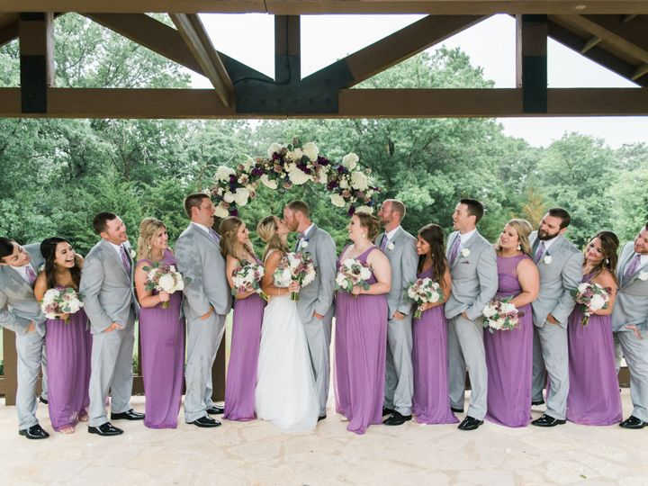 Tmx 1509215204658 Bridal Party Kissing Forney wedding planner
