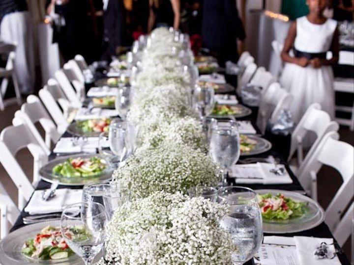 Tmx 1421115981005 Babys Breath Low Centerpieces Delaplane wedding florist