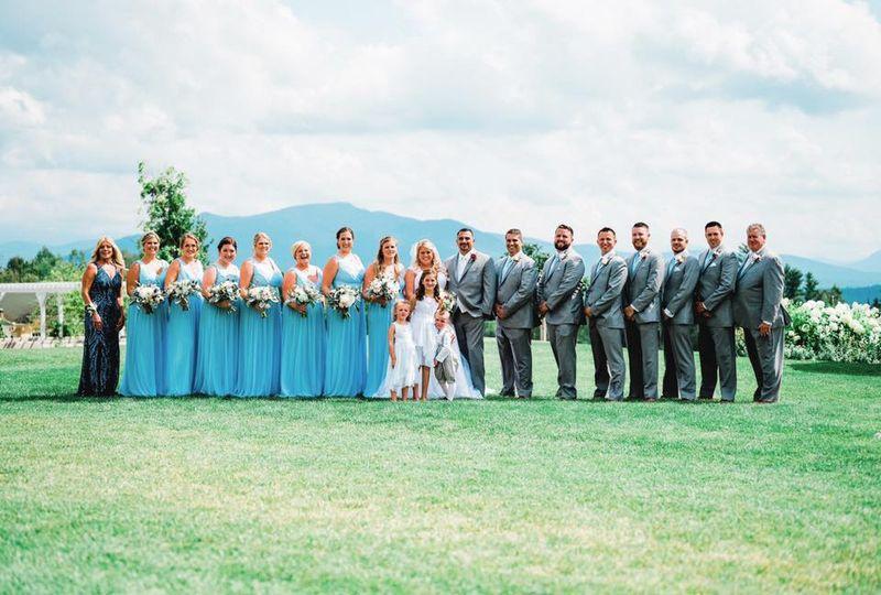 Beautiful Maine wedding!