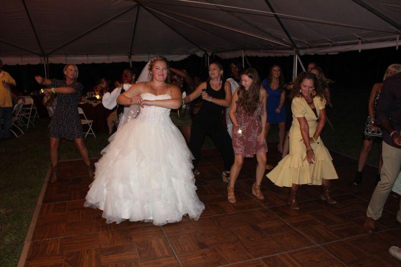 Bride Dancing September 2019