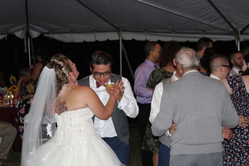 September Tent Wedding