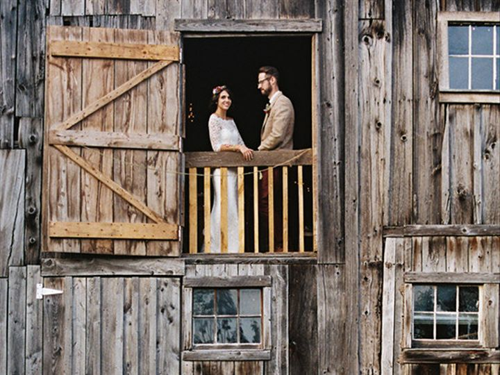 Tmx 1455563598686 Coupple In Barn Narrowsburg, NY wedding rental