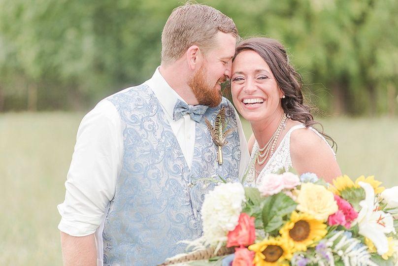 aaron tori whimsical sunflower wedding at the barn at kill creek farm 0056 51 771527