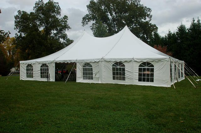 Window sides on our tents