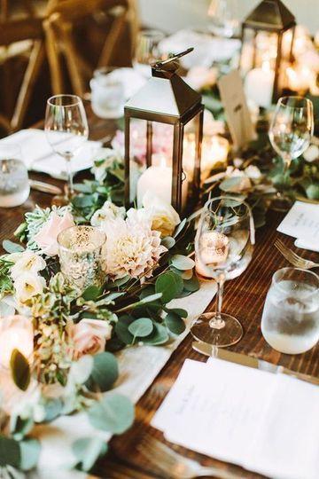 Pretty table settings