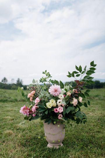 Floral arrangement | [photo: The Light + Color]