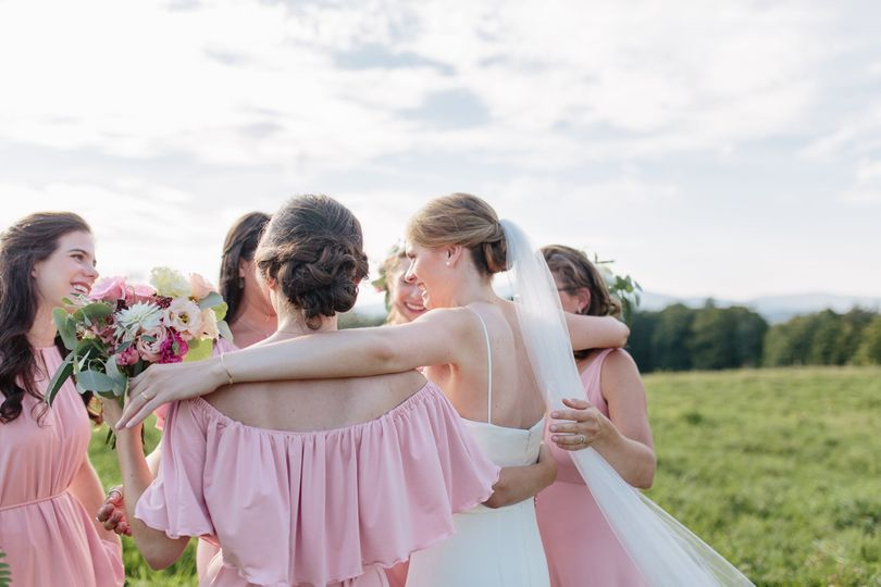 Bridal party | [photo: The Light + Color]