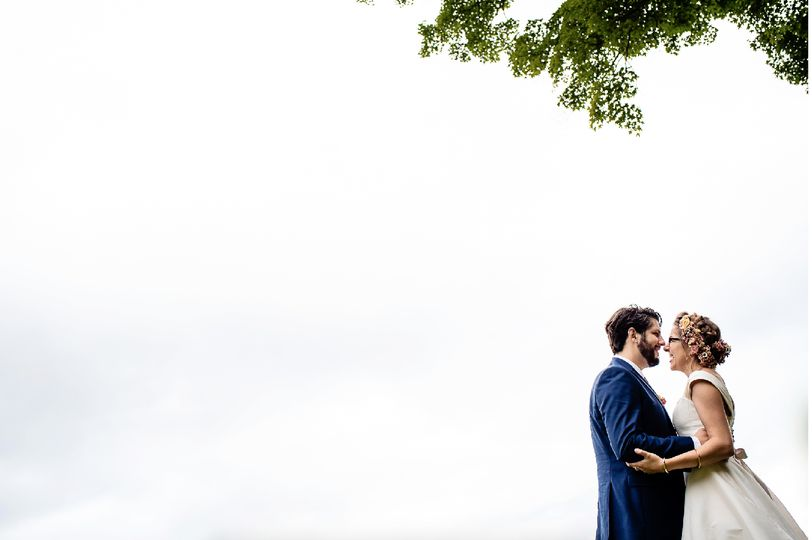 Groom and bride | [photo: Hannah Photography]