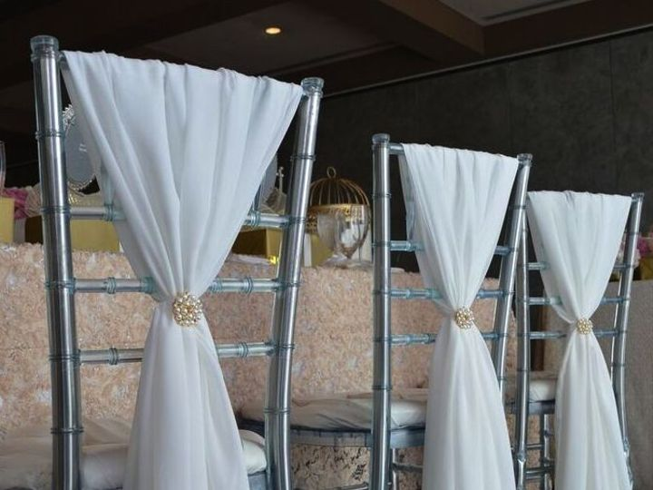 Tmx 1467214790981 Chair Cover With Link Floral Park wedding rental
