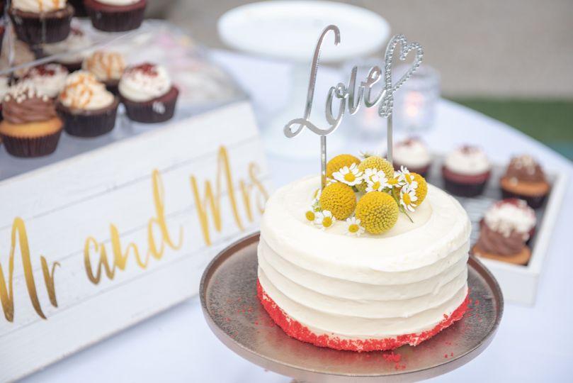 Simple cake, lots of love