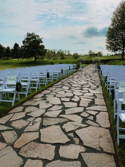 Lower Lawn Ceremony