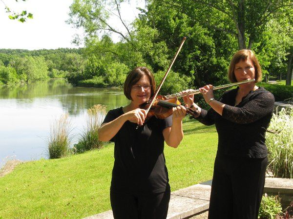 Violin and flute duo