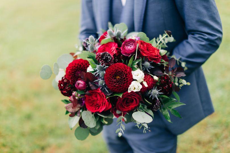 Jewel Tones Bouquet