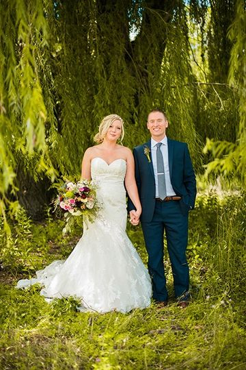 Willow Bride and Groom
