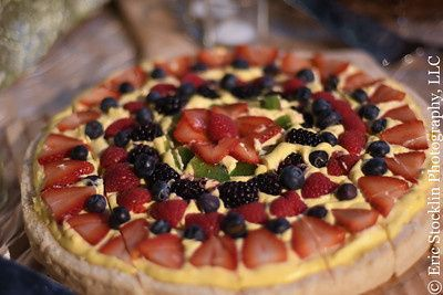 fruit tart dessert pizza