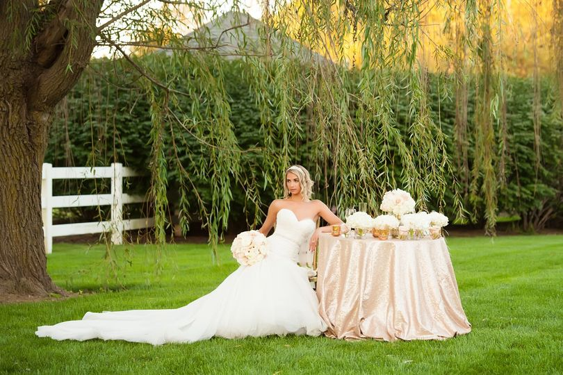 Blush Sweetheart Tablescape