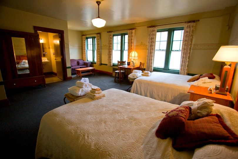 Main Lodge Guest Room at McMenamins Edgefield